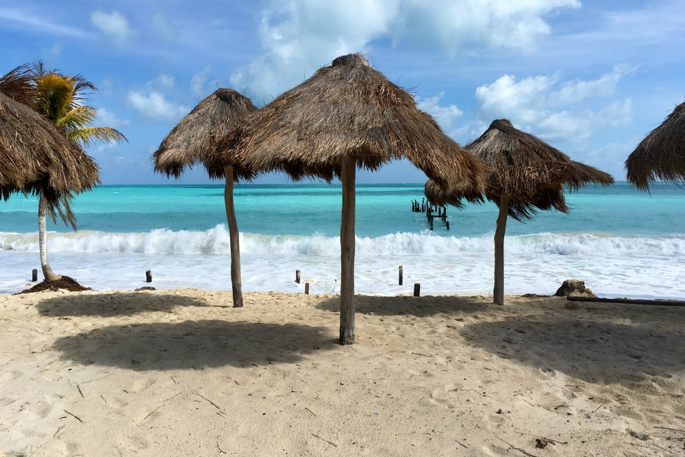 Isla Blanca bei Cancun, Mexiko