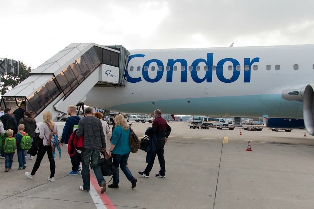 Flug von Frankfurt nach Cancun mit Condor