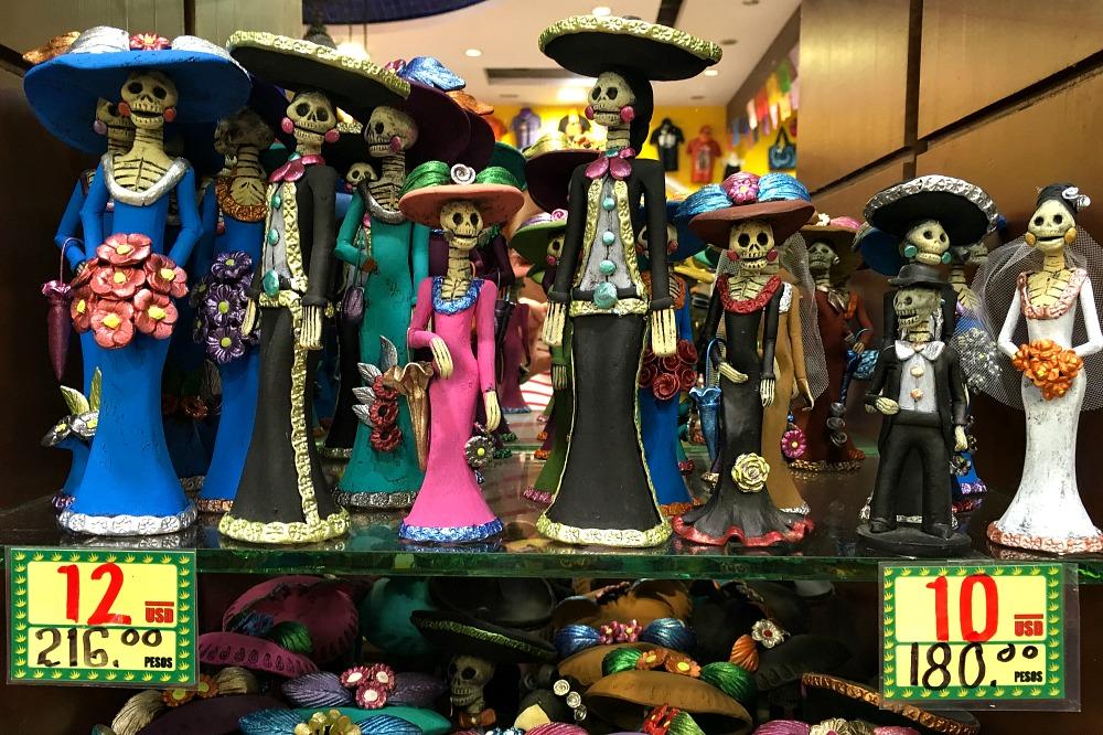 La Catrina in Mexiko