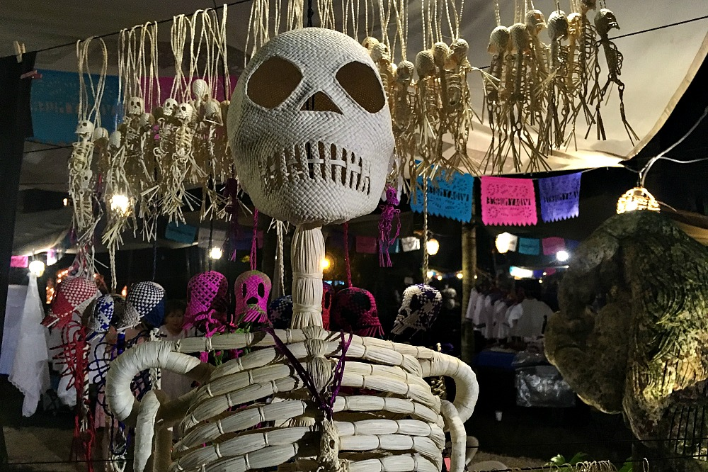 Xcaret, Yucatan, Mexiko: Festival of Life and Death Traditions