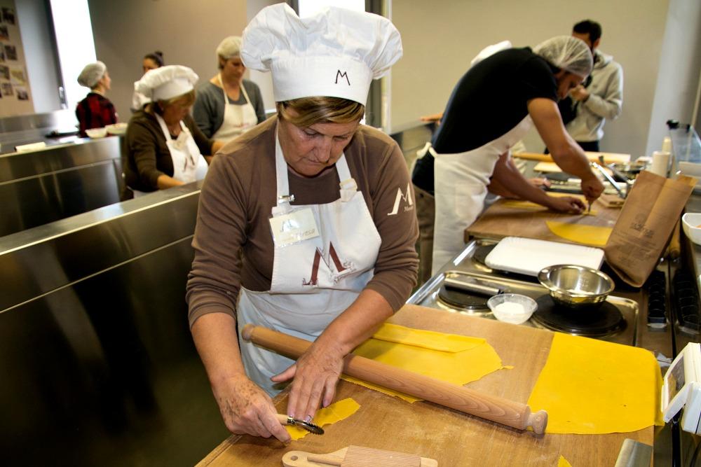 Casa Artusi: Pasta Kochkurs mit den Mariette