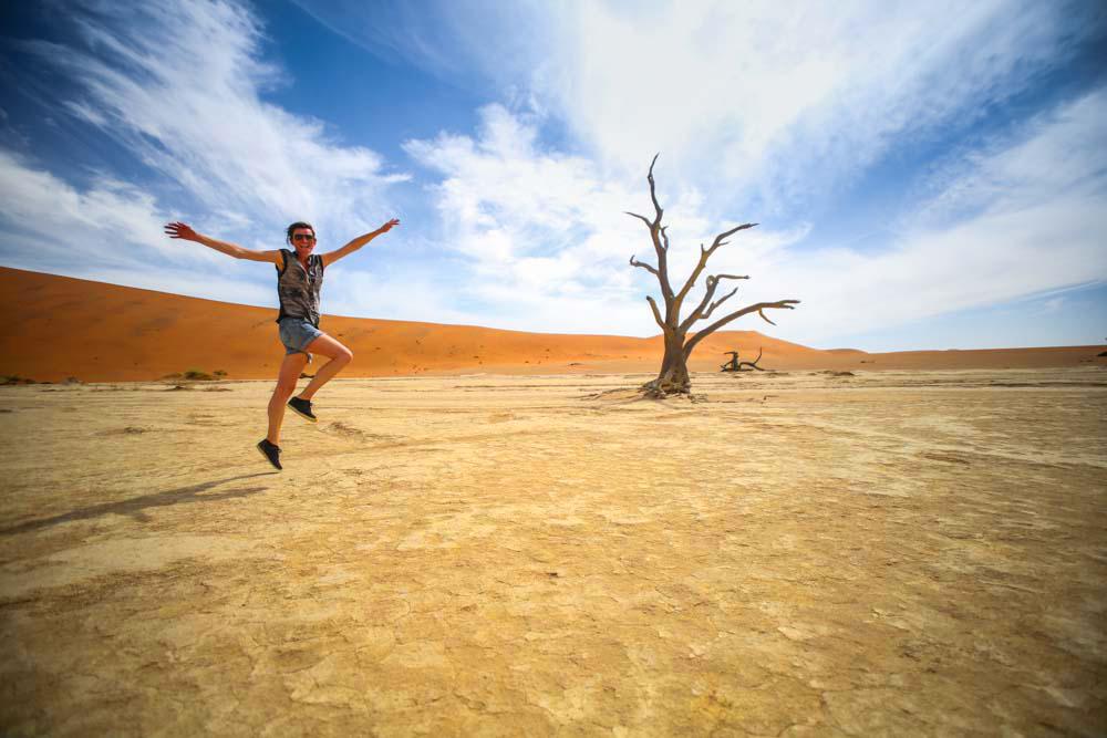 Reiseblogger in Namibia, Afrika