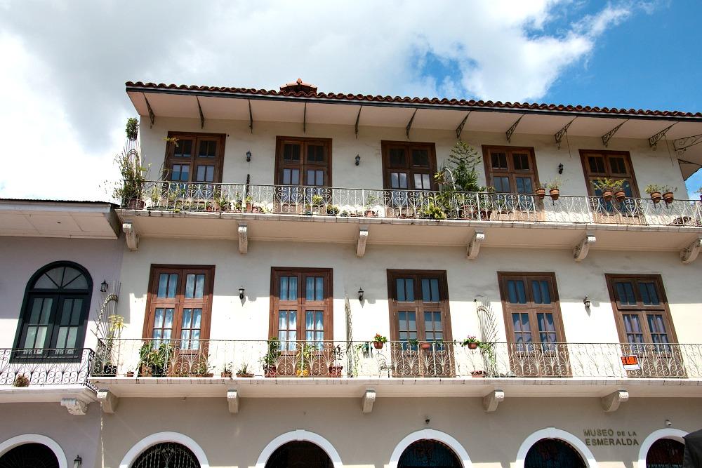 Altstadt Casco Viejo in Panama Stadt
