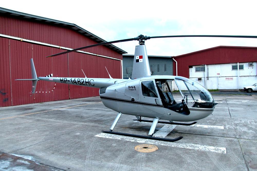 Helikopter fliegen mit Helipan