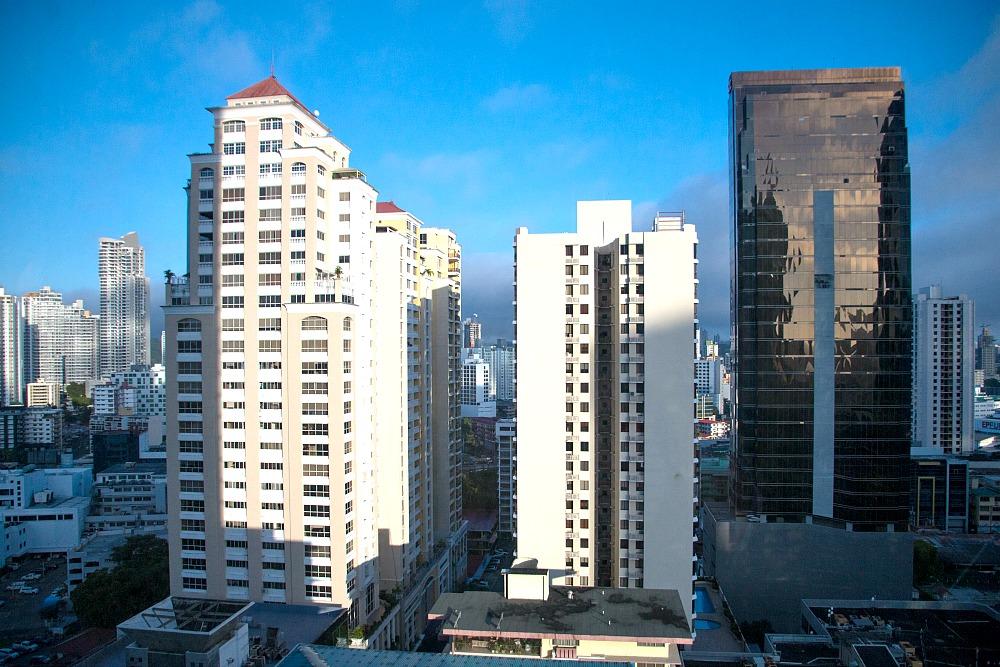 Ausblick vom Grace Panama Hotel