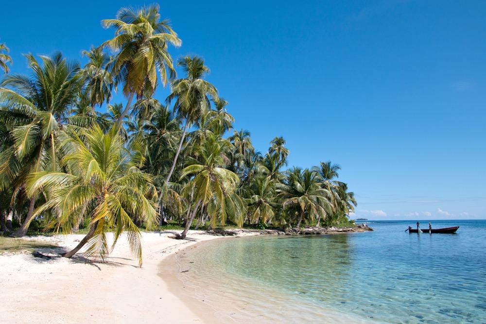 Diadup - eine der San Blas Inseln in der Karibik