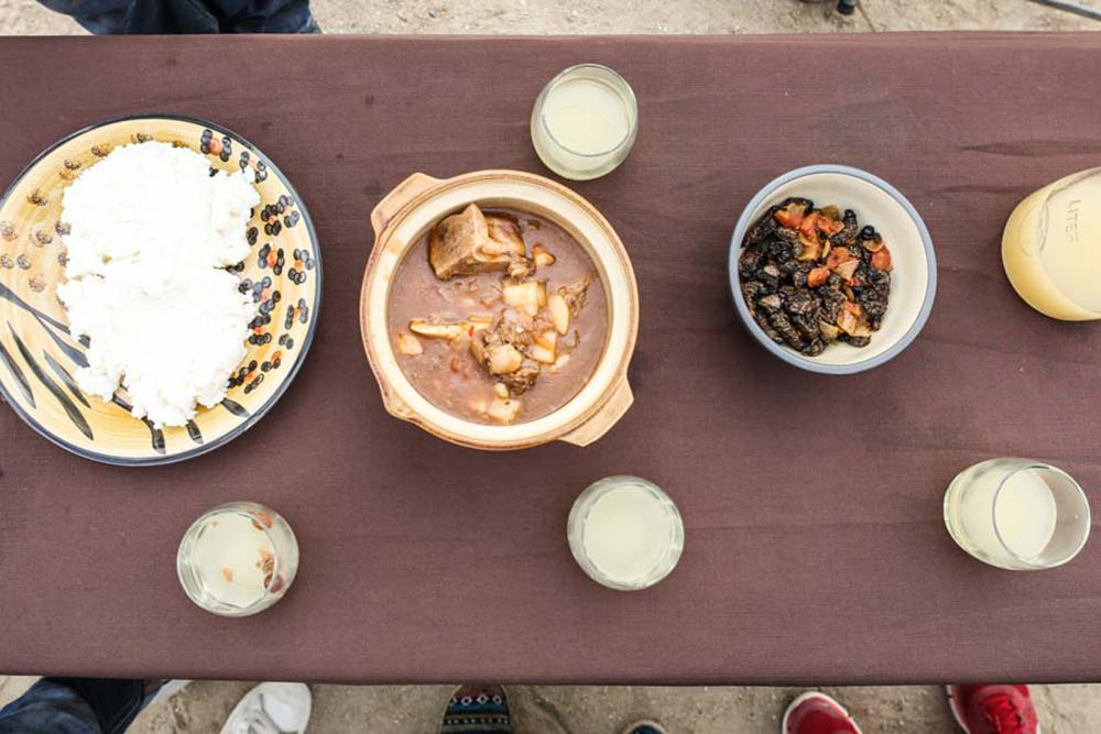 Essen in Namibia
