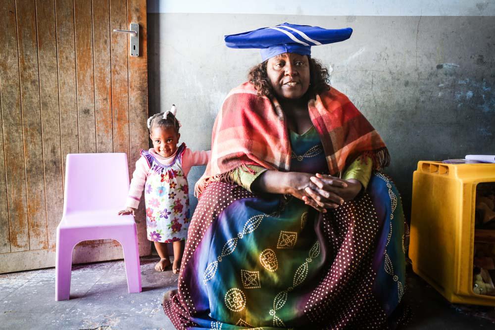 Einwohner in Namibia
