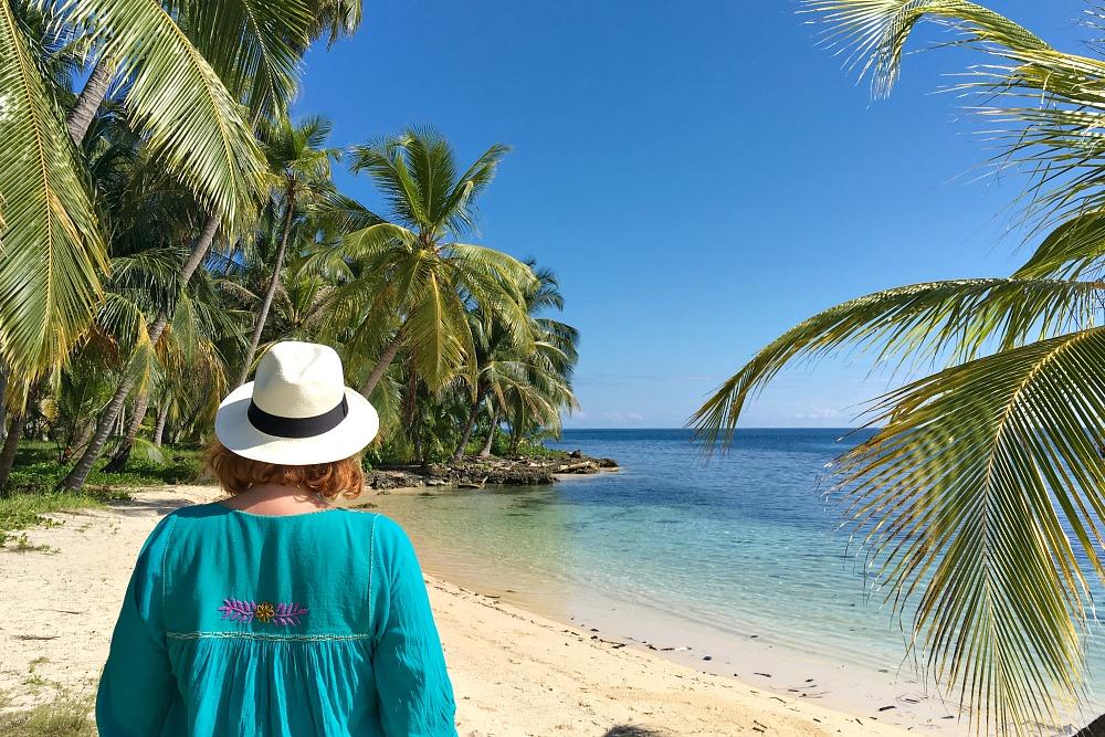 Anja Beckmann vom Reiseblog Travel on Toast auf den San Blas Inseln