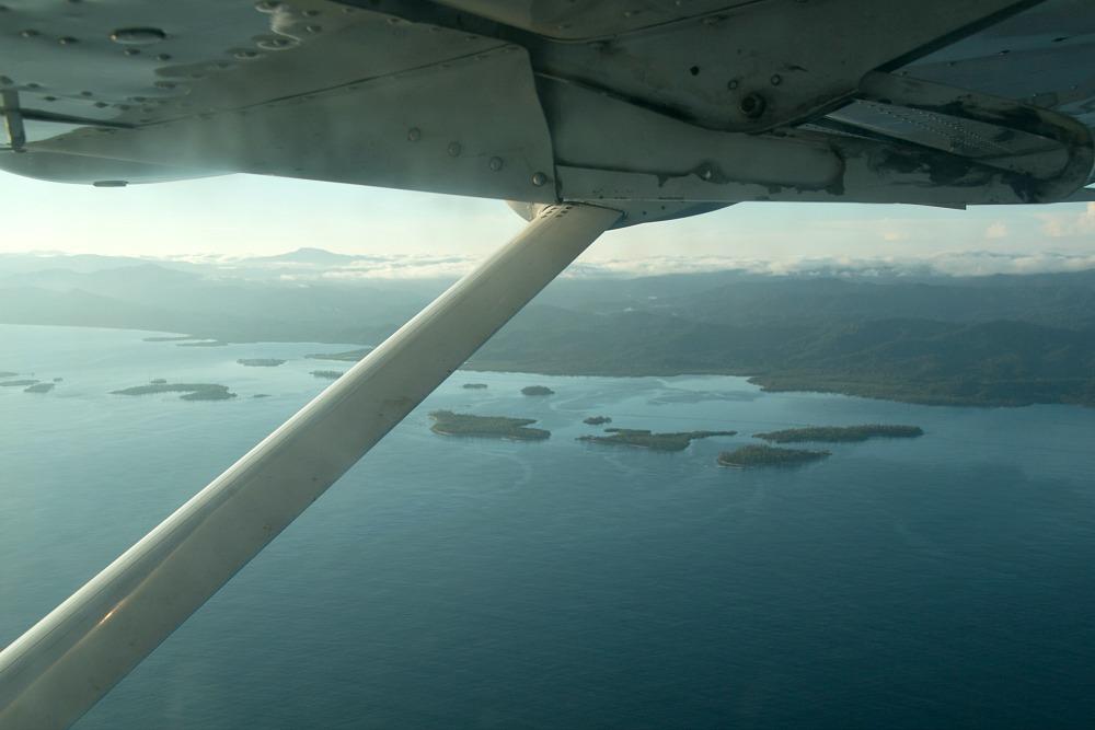 Flug auf die San Blas Inseln