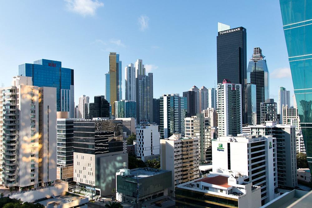 Wokenkratzer in Panama Stadt