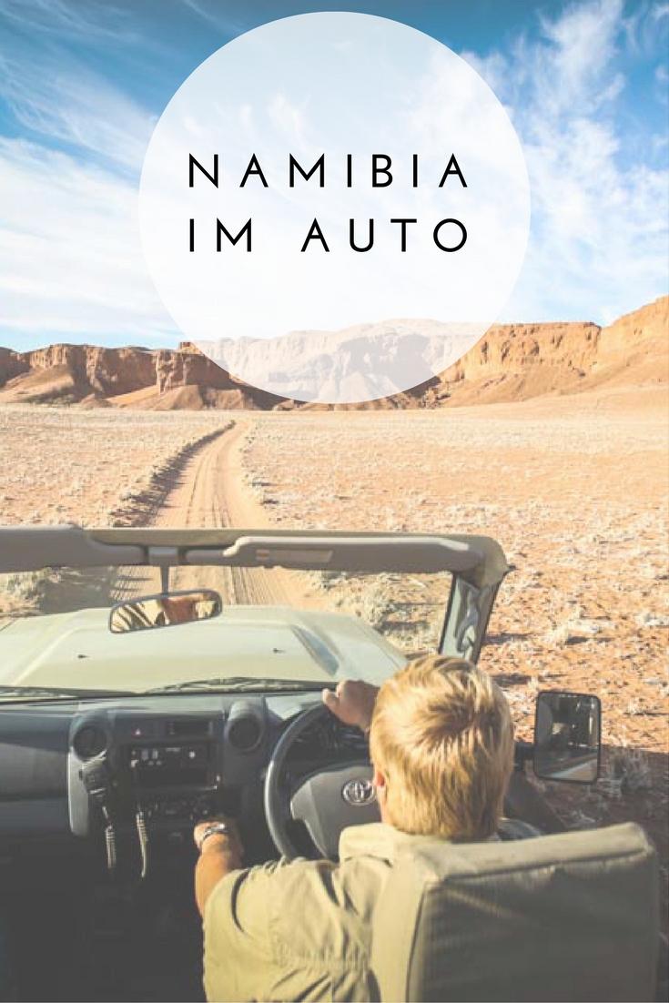 Ihr wollt Namibia (Afrika) im Mietwagen erkunden? Ich war im Auto mit einem Guide unterwegs und gebe euch im Reiseblog nützliche Tipps für euren Urlaub.