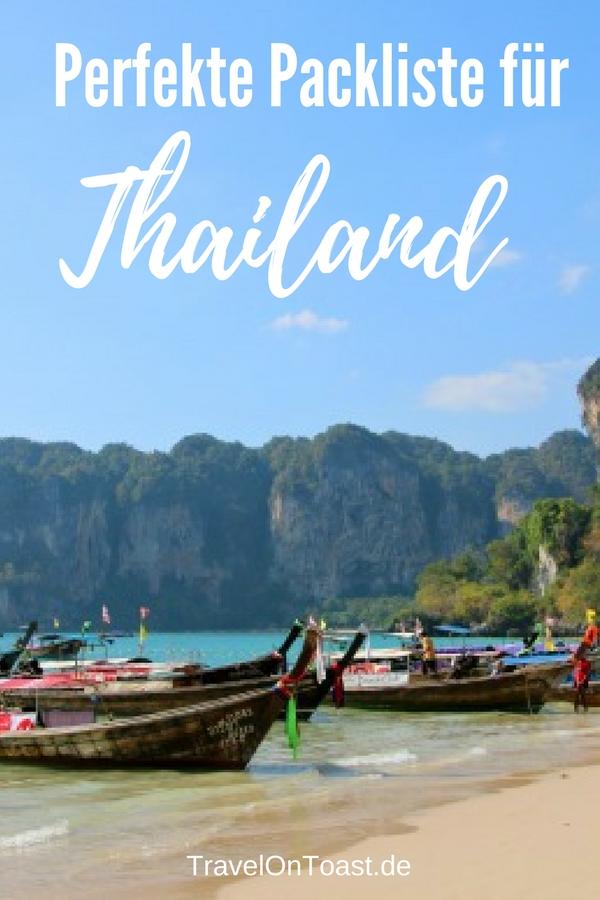 Die perfekte Packliste Thailand: Eine praktische Checkliste für deinen Südostasien Urlaub - das PDF zum Ausdrucken findest du auf dem Reiseblog #Packliste #Thailand #Südostasien #Asien