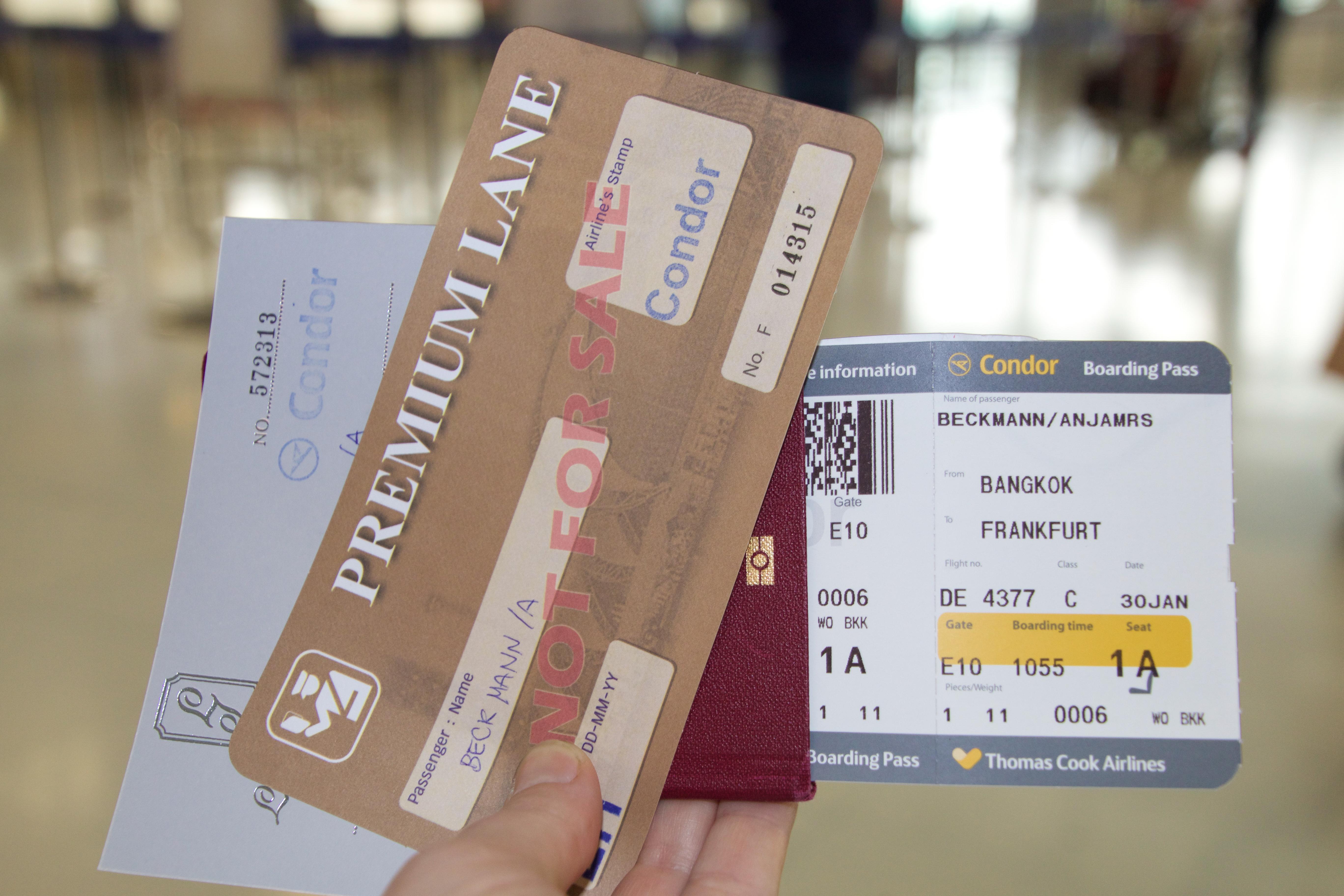 Packliste Thailand - Reiseunterlagen