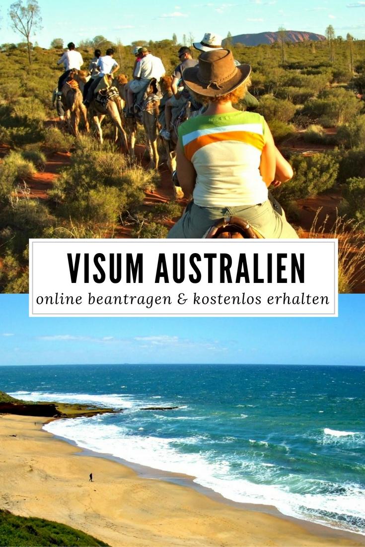 Visum Australien online beantragen & kostenlos erhalten - lies mehr dazu im Reiseblog