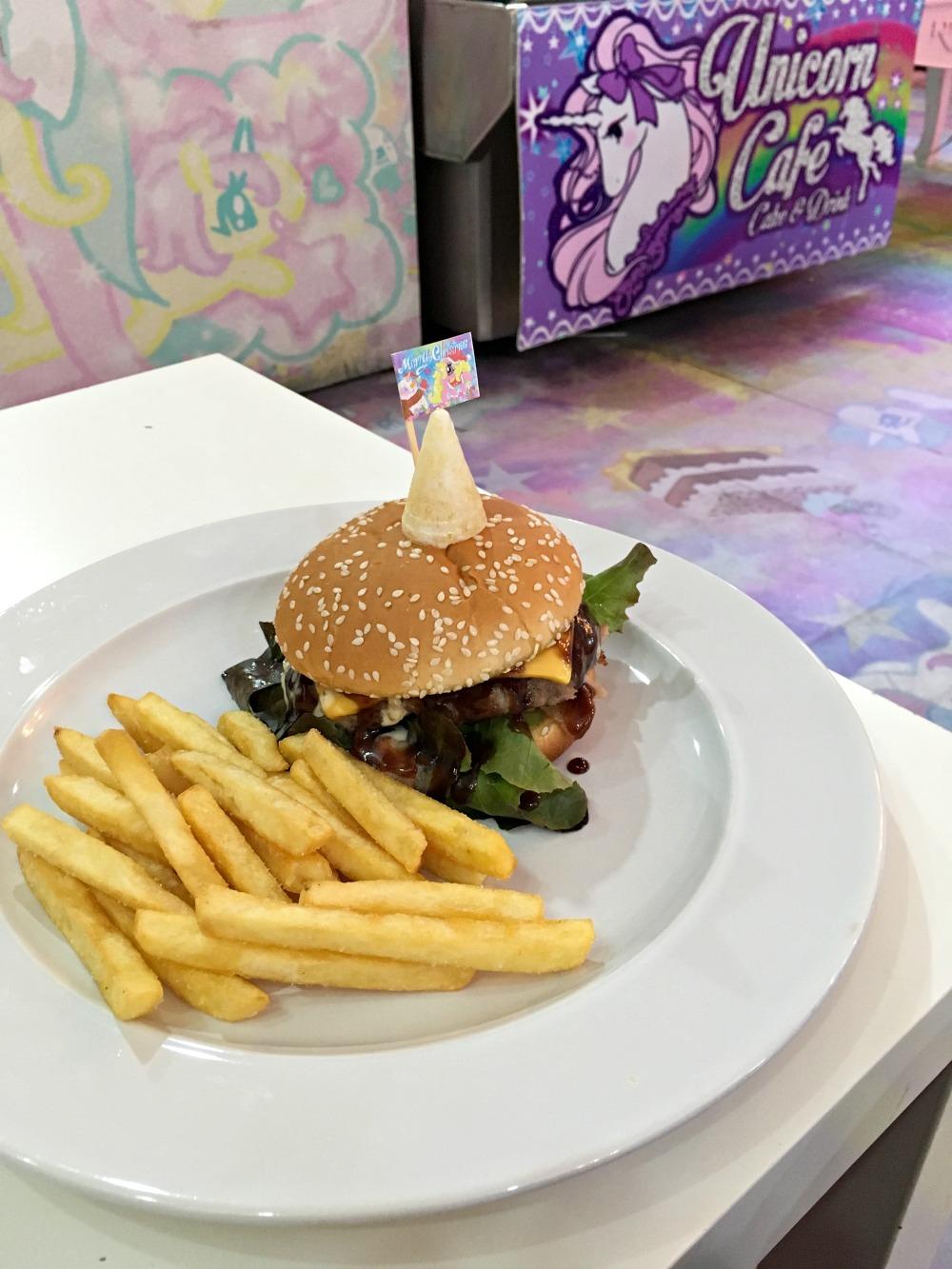 Unicorn BBQ Bacon Burger