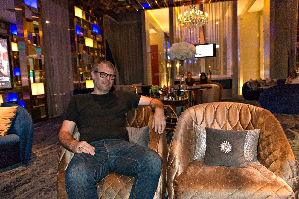 In der Lounge des VIP Cinemas Bangkok