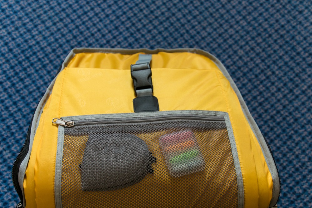 Rucksack Trolley Runway -33-: Eine der drei Innentaschen