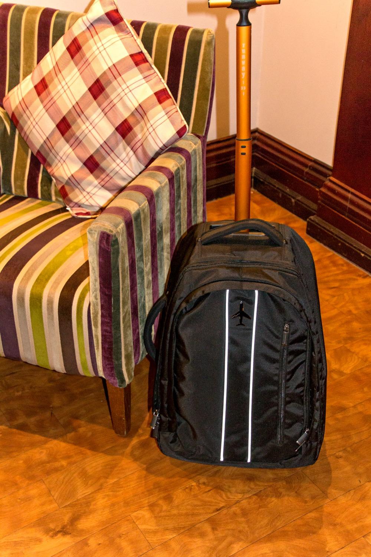 outdoorer Rucksack Trolley Runway -33-: ideal als Handgepäck für eine Kurzreise