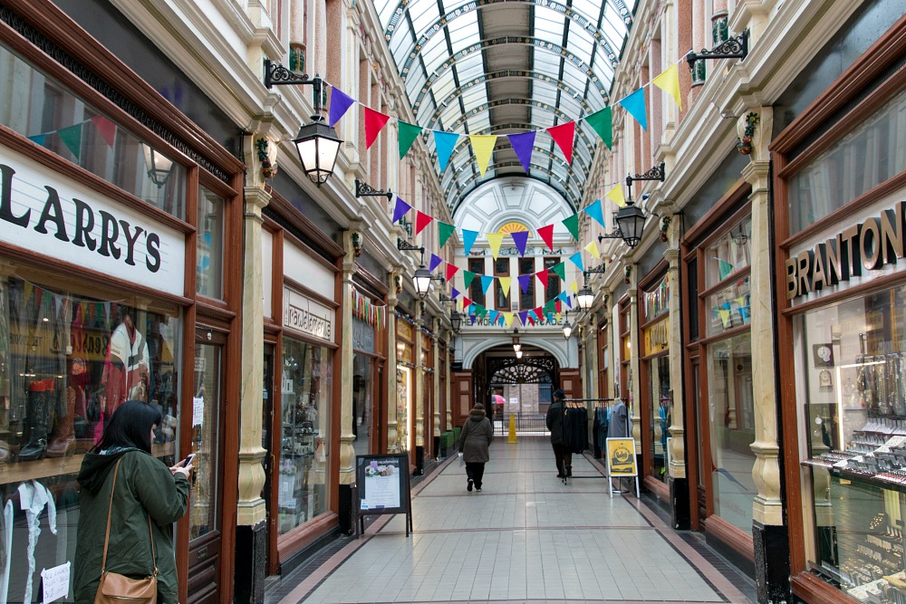 Hepworth's Arcade in Hull