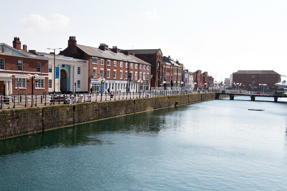 Blick auf Hull