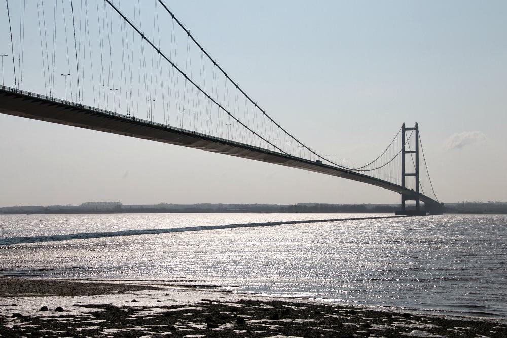 Humber-Brücke in Hull