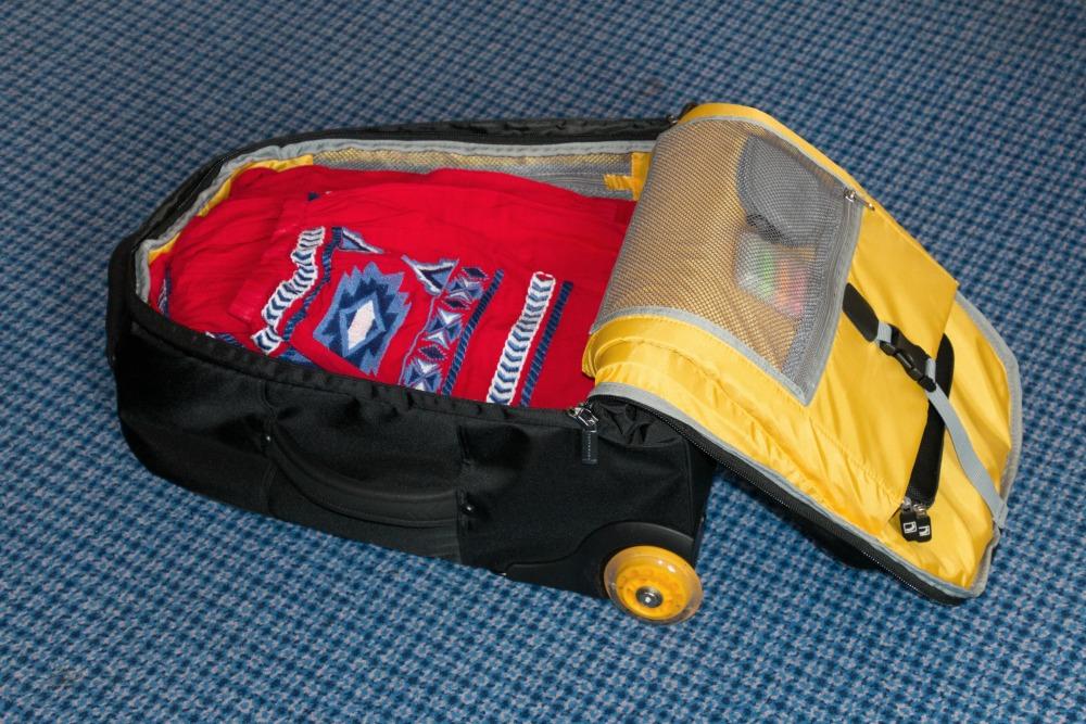 Rucksack Trolley Runway -33- gefüllt