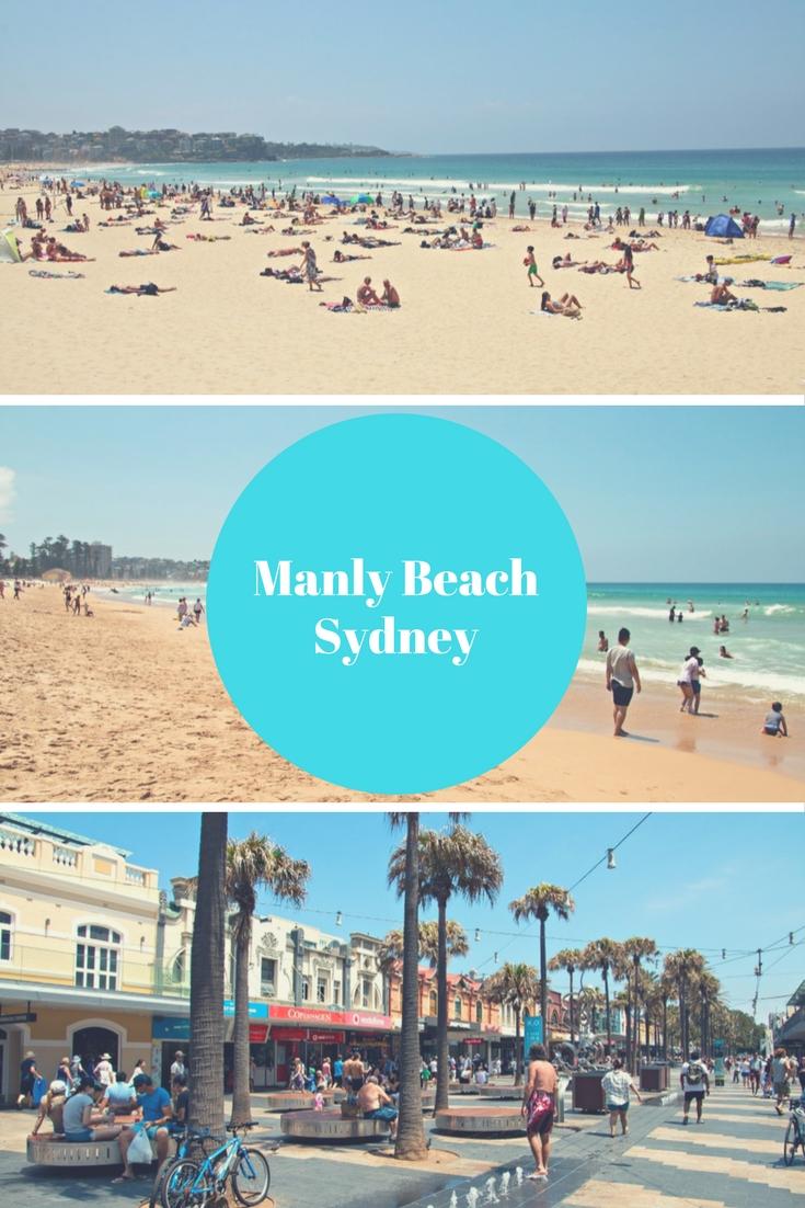 Strände Sydney, Australien: Manly Beach. Bei diesem Strand ist schon die Anreise ein Erlebnis. Du fährst in einer halben Stunde mit der Manly Ferry vom Circular Quay aus dorthin. Weitere Fotos und Infos zu Sydneys schönsten Stränden und Pools findest du in meinem Reiseblog.
