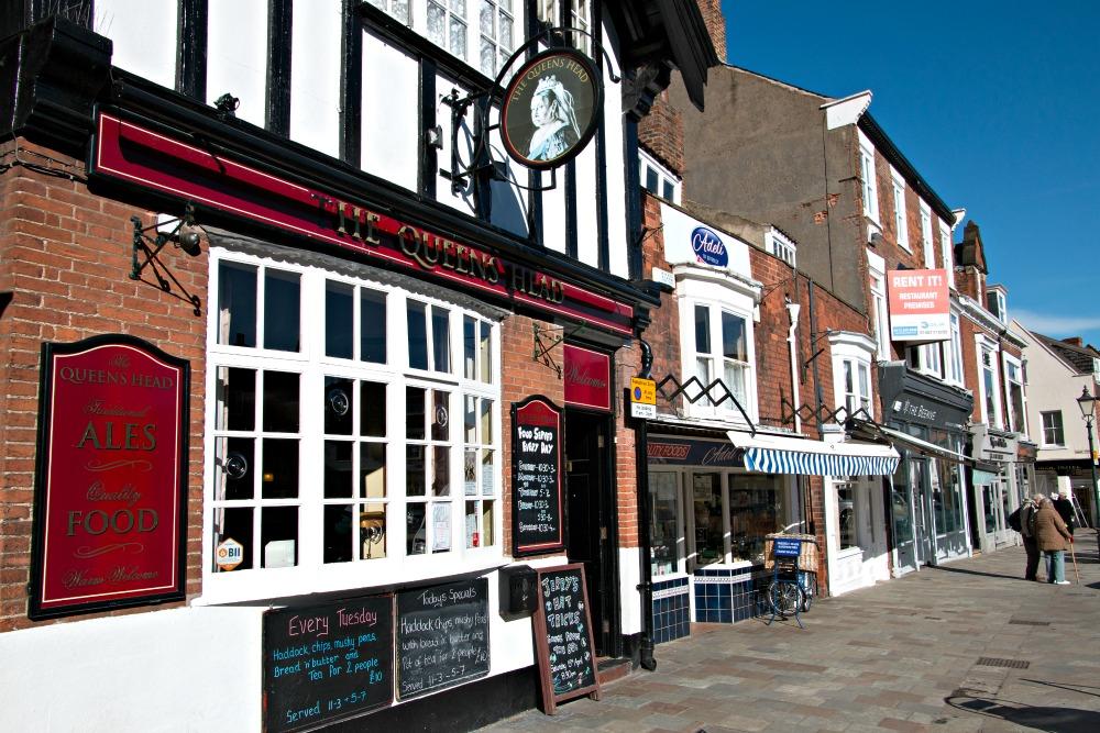 Pub am Marktplatz in Beverley
