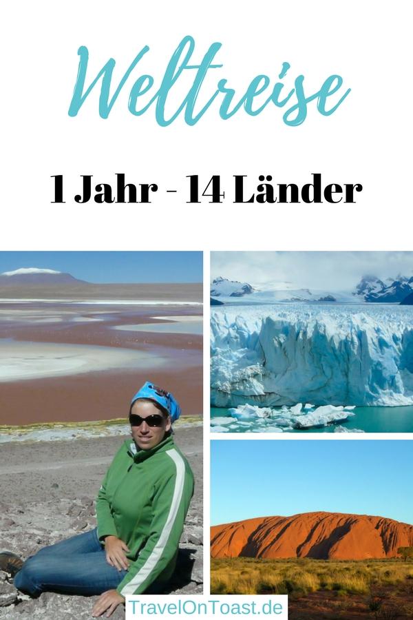 1 Jahr Weltreise: Weitgehend allein habe ich 14 Länder in Asien und Lateinamerika besucht, dazu Australien und Neuseeland. Im Reiseblog zeige ich euch meine Highlights der Weltreise Route mit Bildern, berichte euch von den Weltreise Kosten und erzähle euch, was ich während der Reise gelernt und wie sie mein Leben verändert hat. #Weltreise #Sabbatical #GapYear #Auszeit #Reiseblog #Reiseblogger