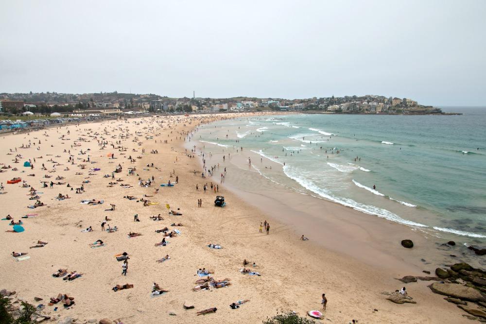 Strände Sydney: Bondi Beach
