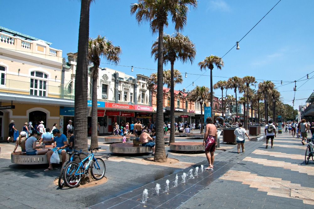 Manly Corso in Sydney