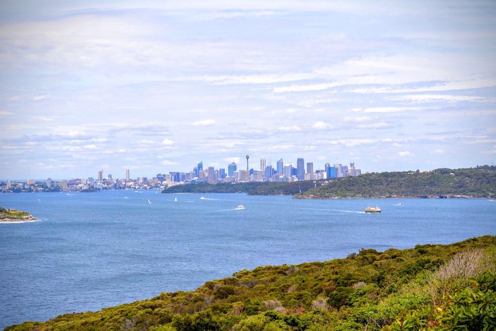 Ausblick auf Sydney, Australien