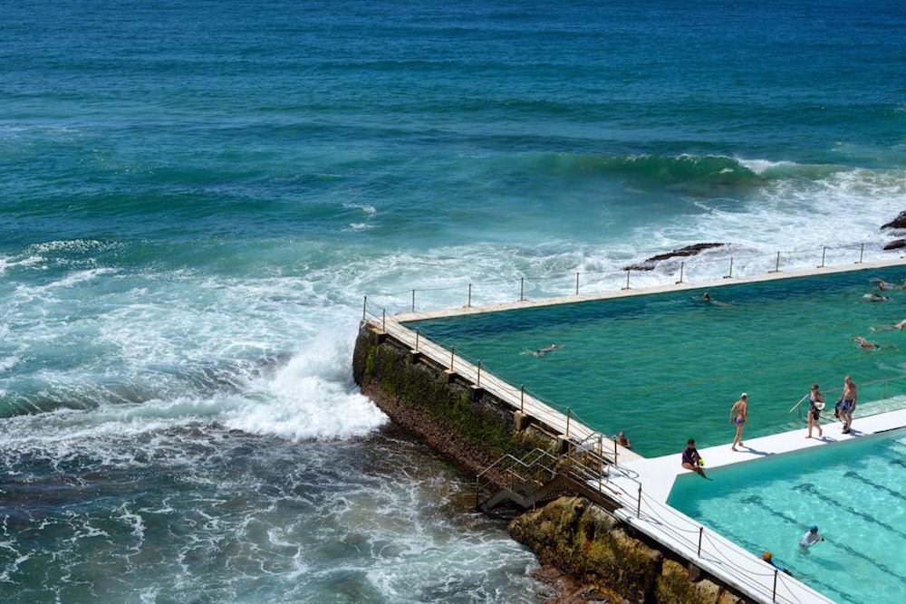 Icebergs Pool am Bondi Beach in Sydney, Australien