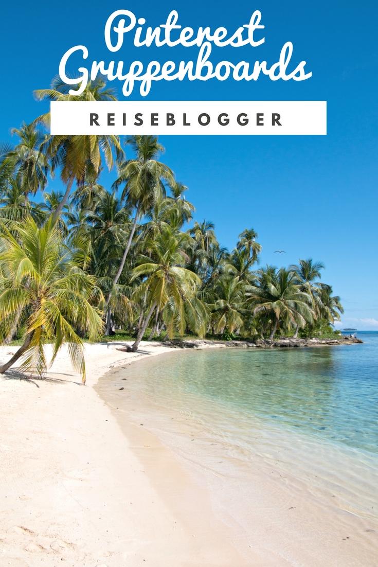 Pinterest Gruppenboards für Reiseblogger finden und nutzen. Die besten Gruppenpinnwände für Reiseblogs stelle ich in meiner Liste vor. #Reiseblog #Reiseblogger
