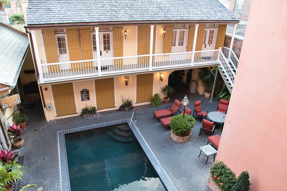 Hotel im French Quarter von New Orleans