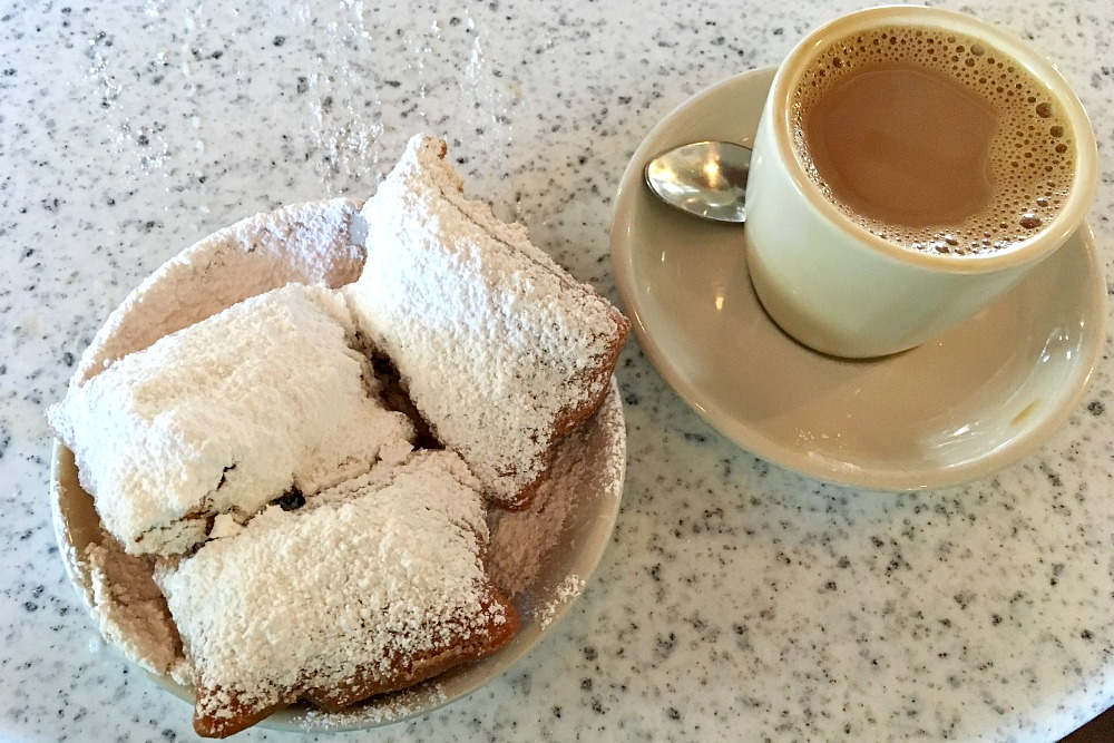 Beignets in New Orleans