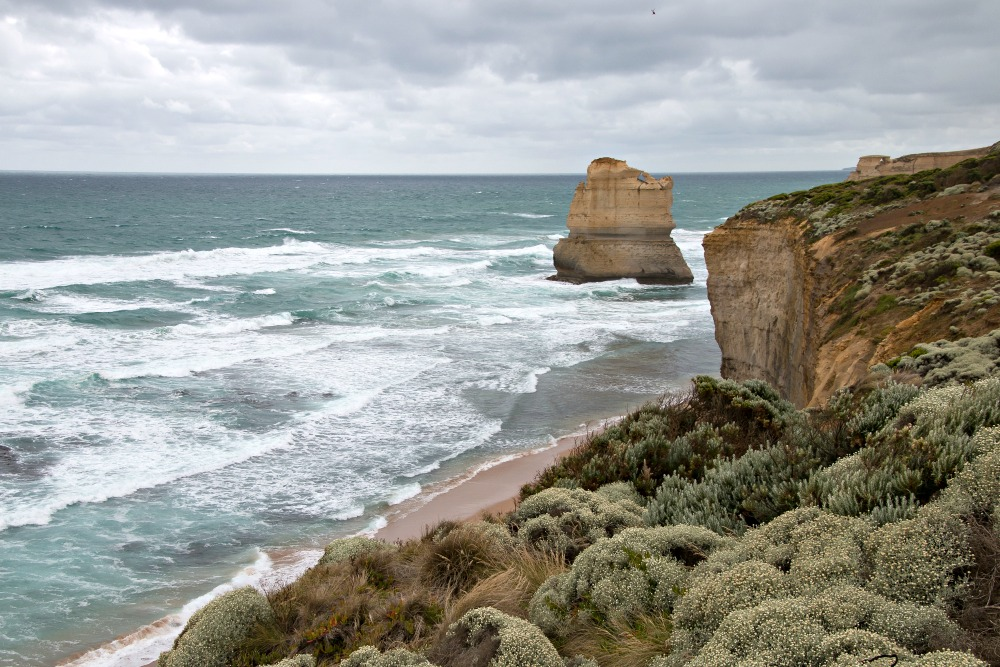 Die Great Ocean Road in Australien