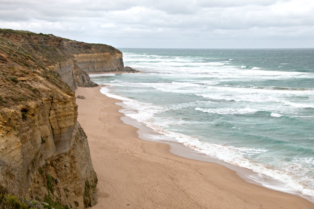 Strand an der Great Ocean Road