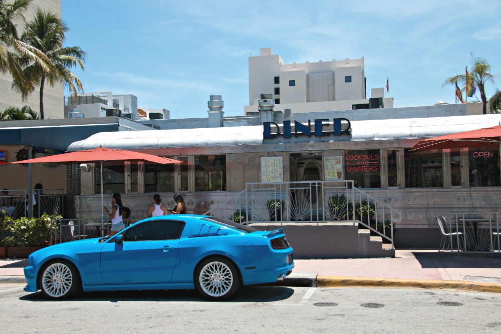 Diner in Miami Beach