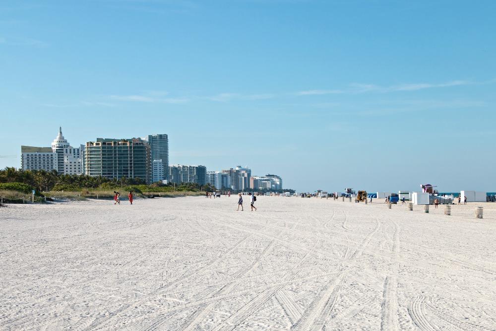 Strand in South Beach