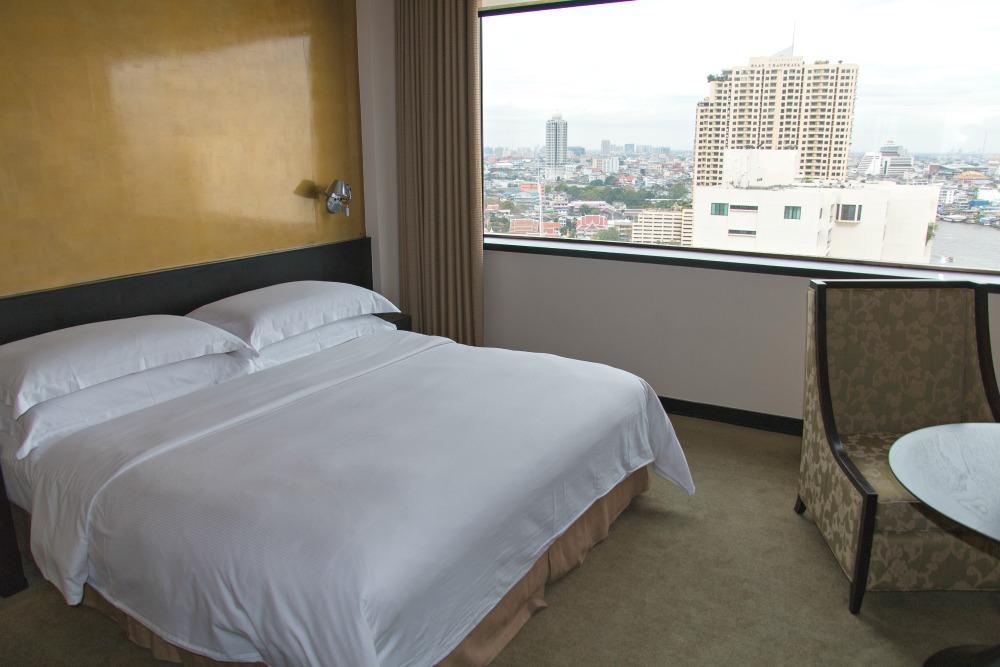 Millennium Hilton Bangkok Hotel: Schlafzimmer