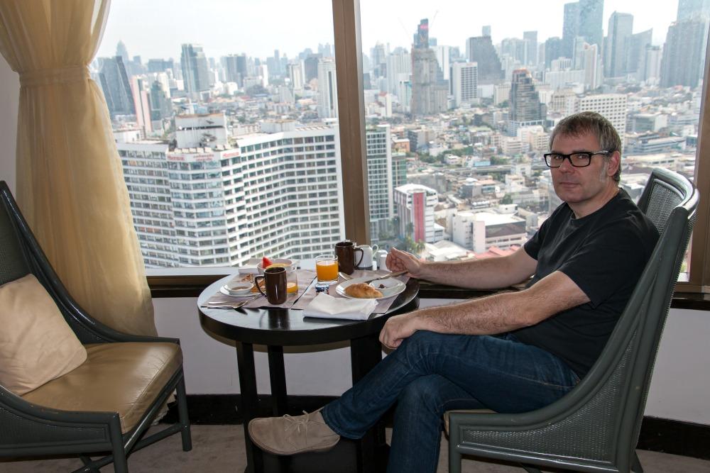 Ausblick vom Millennium Hilton Bangkok Hotel