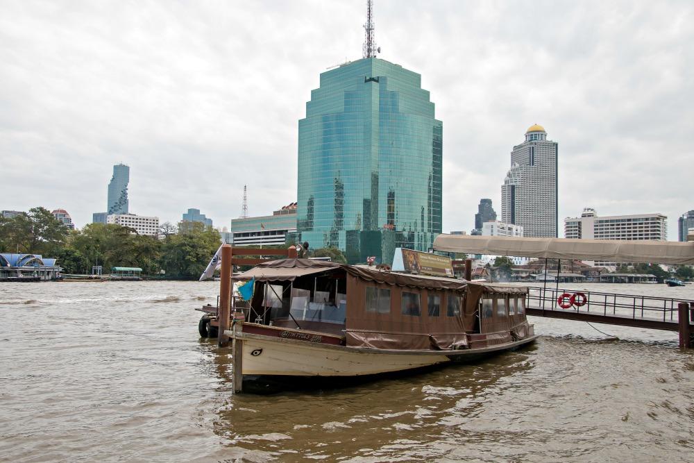 Shuttleboot des Hotels