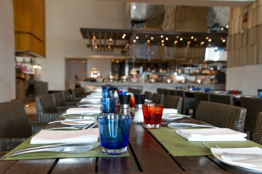 Restaurant im Millennium Hilton Bangkok Hotel