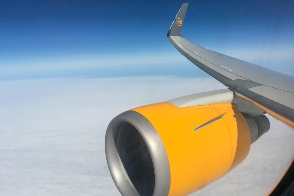 Nonstopflug mit Condor von Frankfurt nach New Orleans