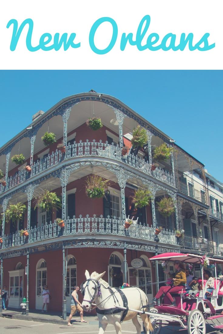 French Quarter in New Orleans, USA: Kolonialhäuser, Jazz & kreolische Küche. Inspiration, Tipps und Fotos für deinen Urlaub - zu Hotel, Restaurants und Sehenswürdigkeiten wie der Bourbon Street