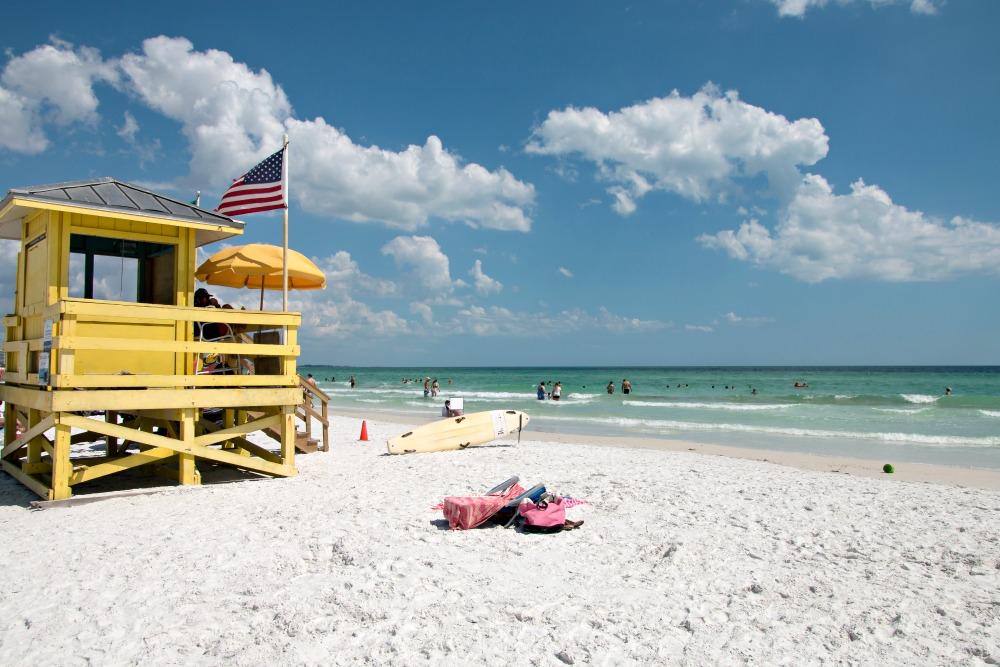Siesta Key Beach bei Sarasota