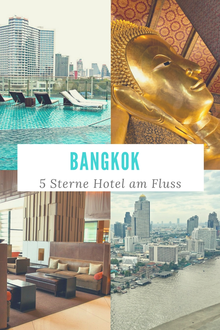 Bangkok, Thailand: 5 Sterne Hotel am Fluss - mit Infinity Pool und Rooftop Bar