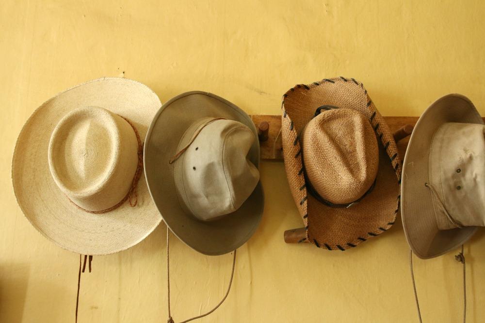 Hüte in Ecuador